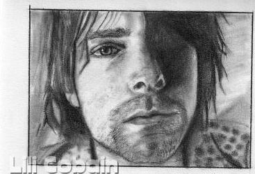 Kurt Cobain by lilicobain